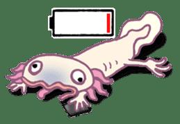 UPAZO the axlotol - mild life sticker #6293403