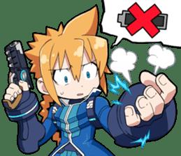 Azure Striker GUNVOLT sticker #6294610