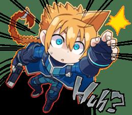 Azure Striker GUNVOLT sticker #6294611