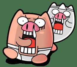 I am Pants Pig sticker #6296490