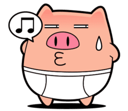 I am Pants Pig sticker #6296498