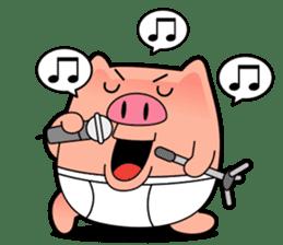 I am Pants Pig sticker #6296502