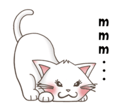 Meany cat Cass for English sticker #6298150