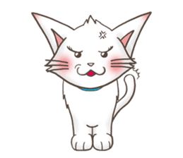 Meany cat Cass for English sticker #6298152