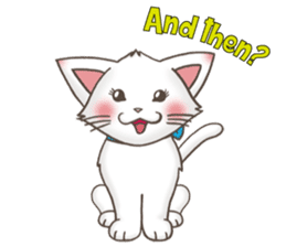 Meany cat Cass for English sticker #6298166