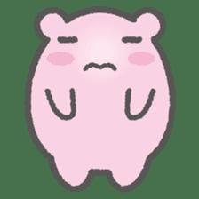 Pink Hamster Mofu-mofu sticker #6300564