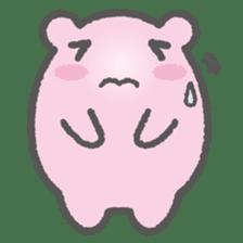 Pink Hamster Mofu-mofu sticker #6300576