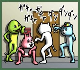 Dear animal costume 2 sticker #6304573