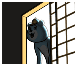 Dear animal costume 2 sticker #6304589
