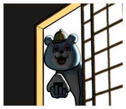 Dear animal costume 2 sticker #6304590