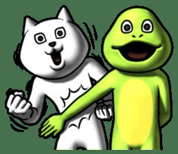 Dear animal costume 2 sticker #6304592