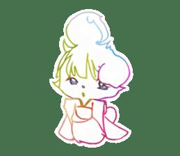 RAINBOW LIGER sticker #6304967