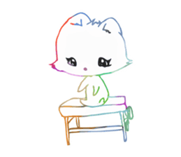RAINBOW LIGER sticker #6304968