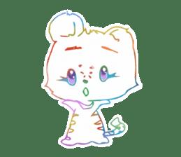 RAINBOW LIGER sticker #6304981