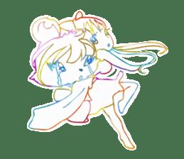 RAINBOW LIGER sticker #6304989