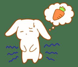 Good friends rabbits sticker #6305174