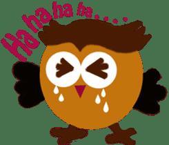 Owl in Town sticker #6314586