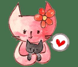 """I'm his """"girlfriend"""" so I'm a Cat sticker #6319847"""