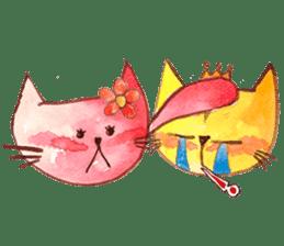 """I'm his """"girlfriend"""" so I'm a Cat sticker #6319850"""