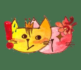 """I'm his """"girlfriend"""" so I'm a Cat sticker #6319853"""