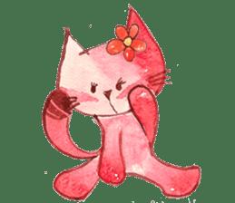"""I'm his """"girlfriend"""" so I'm a Cat sticker #6319856"""