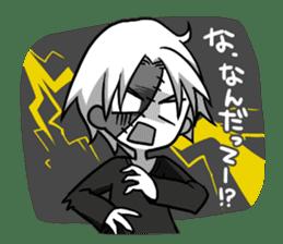 ZombieBoy sticker #6321203