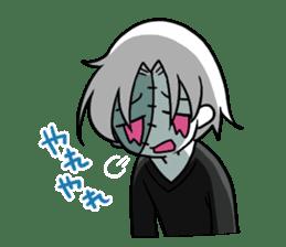 ZombieBoy sticker #6321218