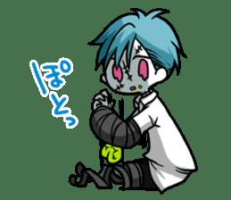 ZombieBoy sticker #6321231
