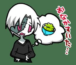 ZombieBoy sticker #6321235