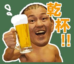 Minoru Suzuki Sticker sticker #6323032