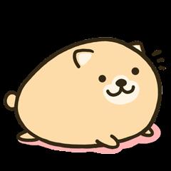 very cute egg dog