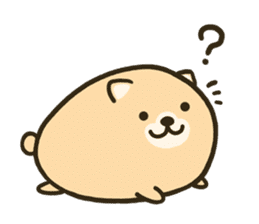 very cute egg dog sticker #6330968