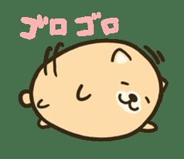 very cute egg dog sticker #6330971