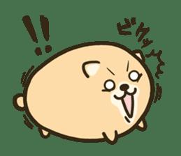 very cute egg dog sticker #6330987