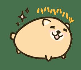 very cute egg dog sticker #6330993