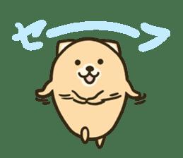 very cute egg dog sticker #6331002