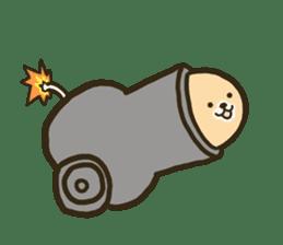 very cute egg dog sticker #6331004