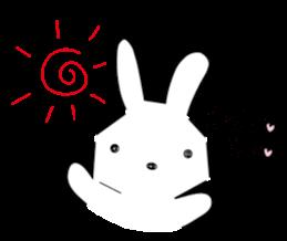 A rabbit is in love 2 sticker #6332008