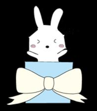 A rabbit is in love 2 sticker #6332016