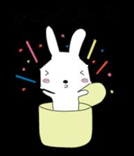 A rabbit is in love 2 sticker #6332018
