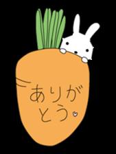 A rabbit is in love 2 sticker #6332019