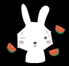 A rabbit is in love 2 sticker #6332034
