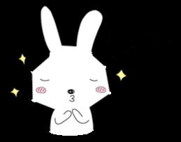 A rabbit is in love 2 sticker #6332036
