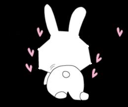 A rabbit is in love 2 sticker #6332041