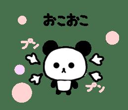 panda family panda 2 sticker #6332863