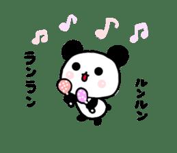 panda family panda 2 sticker #6332884