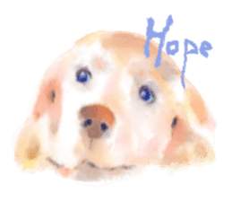 Watercolor of dog and cat sticker #6341712