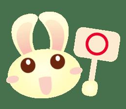Little Rabbit Stickers sticker #6341794