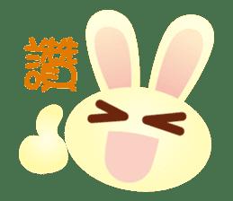 Little Rabbit Stickers sticker #6341798