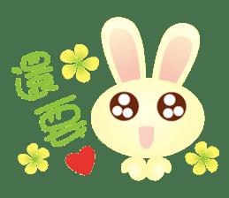 Little Rabbit Stickers sticker #6341830